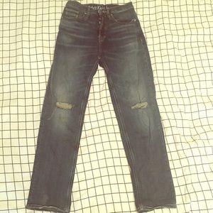Calvin Klein high rise jean
